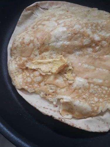 Avec l'omelette